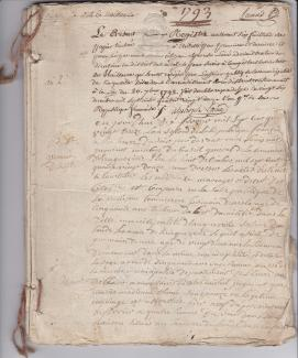 1793 premier registre de la republique 1