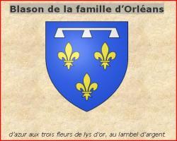 Blason d orleans 1