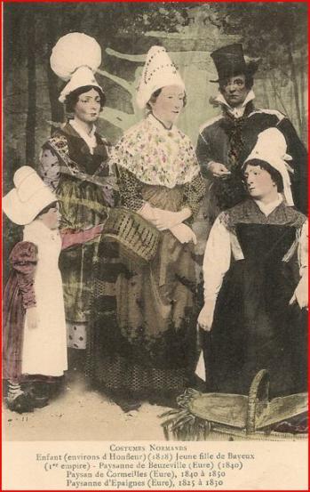 Costumes 1830