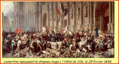 Lamartine repoussant le drapeau rouge 1