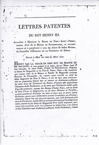 Lettres patentes 3