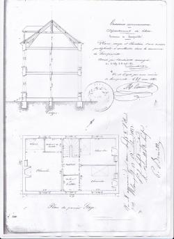 Plan etage presbytere