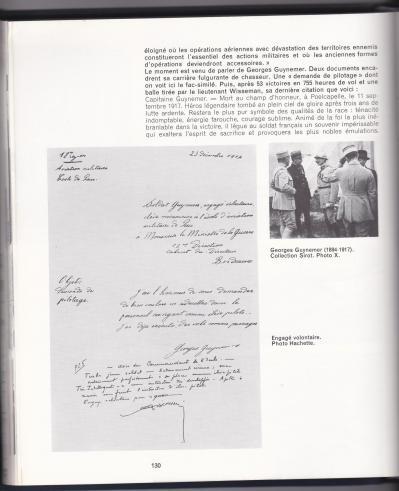 Texte guynemer livre